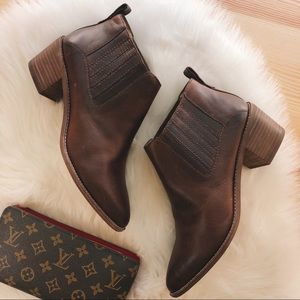 nwt madewell bonham boots in cherry wood size 9.5